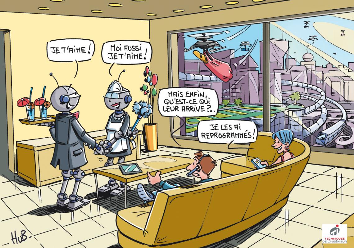 Dessin Smart city: le carrefour des innovations