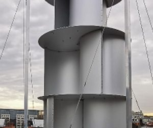 Une éolienne spécialement adaptée en milieu urbain