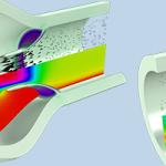 Simuler l'Interaction Fluide-Structure d'un Écoulement Diphasique avec COMSOL Multiphysics®