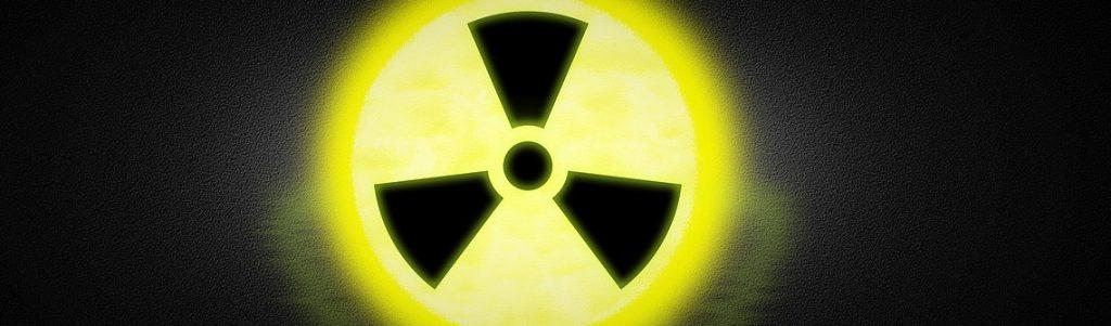 logo radioactivité nucléaire