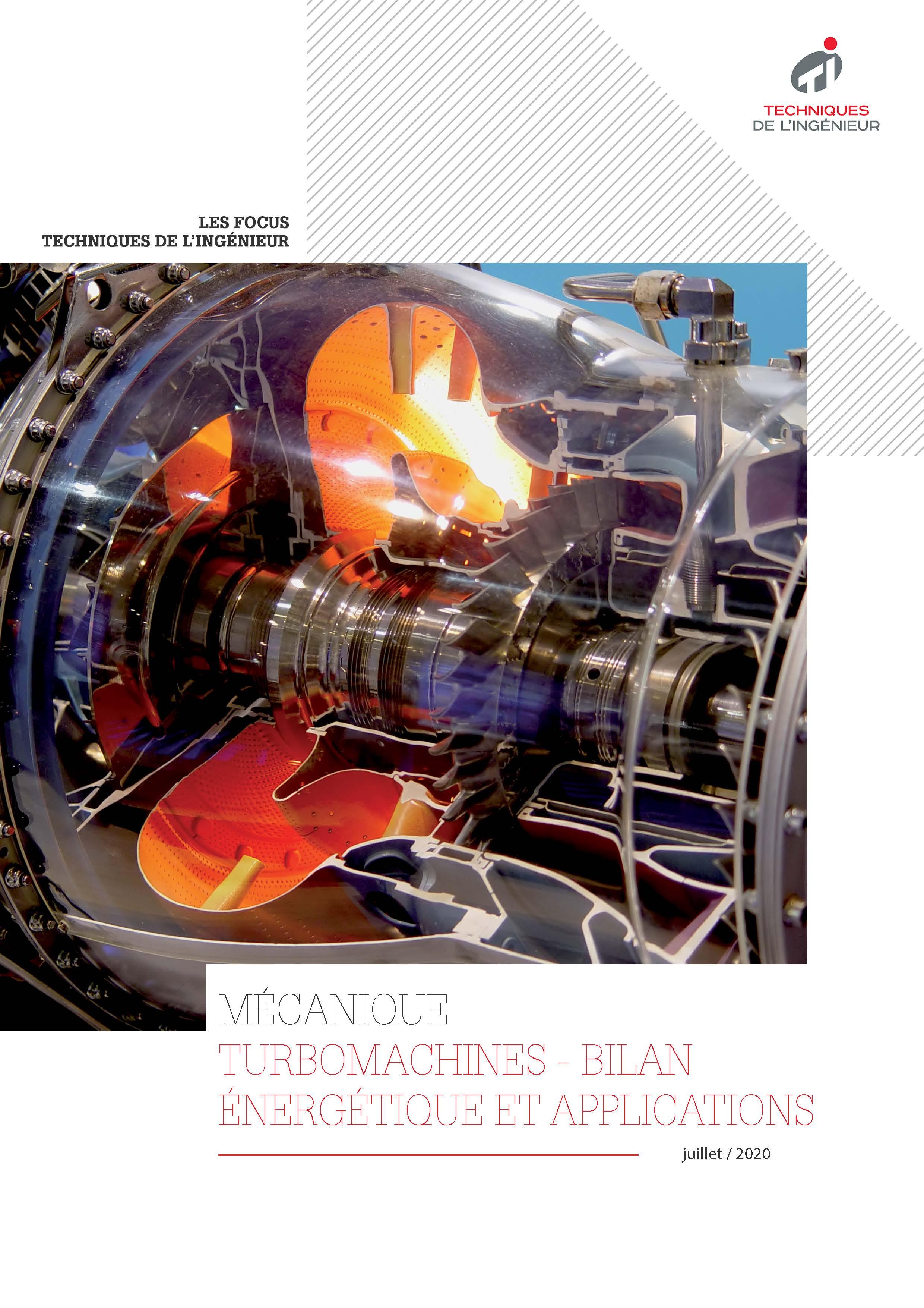 Turbomachines - Bilan énergétique et applications