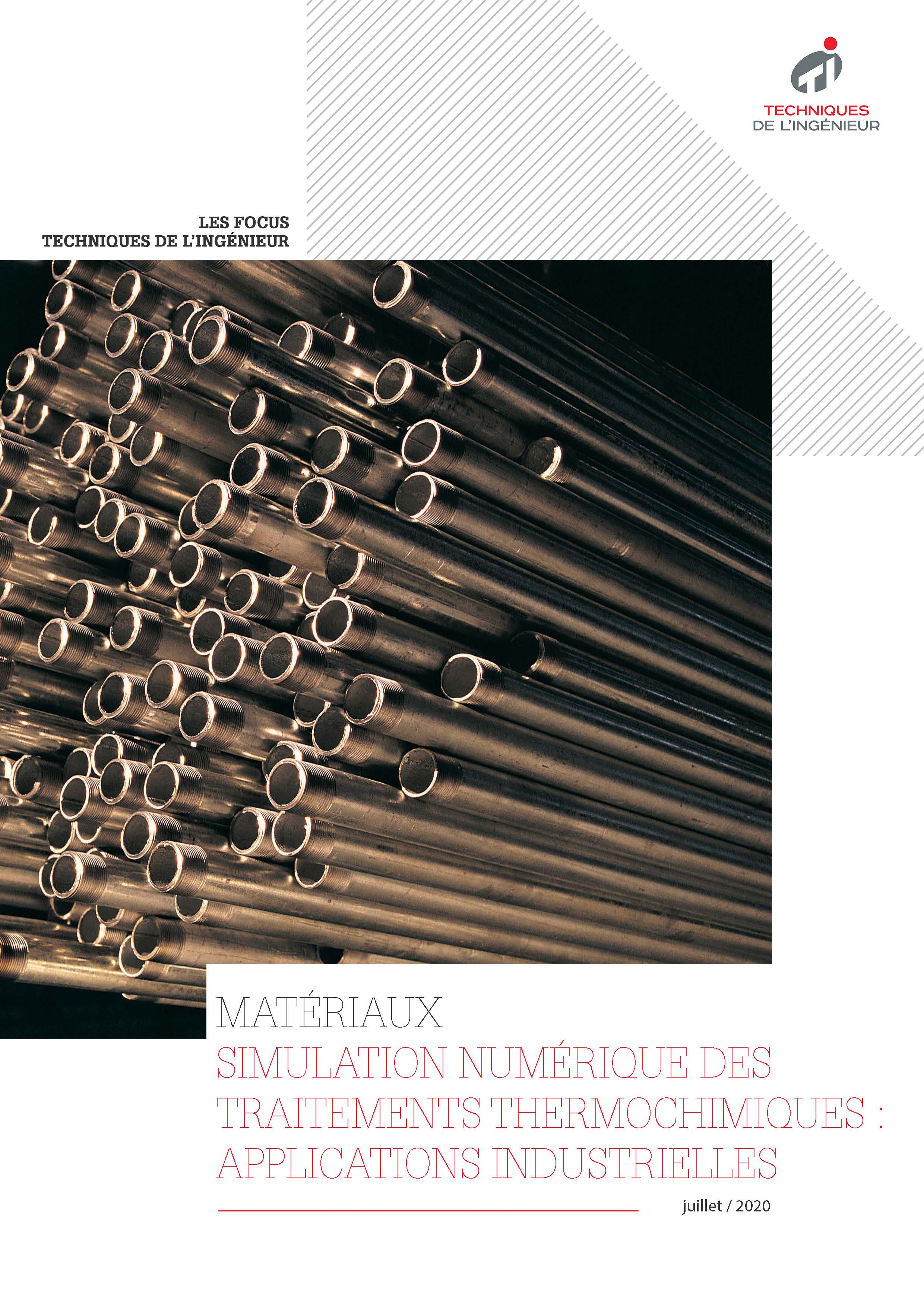 Simulation numérique des traitements thermochimiques : applications industrielles