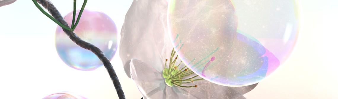 Agriculture décalée : un pistolet à bulles et un drone pollinisateurs