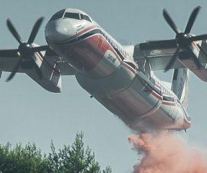 Un dispositif innovant pour transformer des avions de ligne en bombardiers d'eau