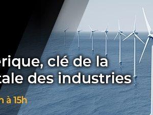 """Web conférence """"Jumeaux Numériques : Clés de la transition digitales des industries"""""""