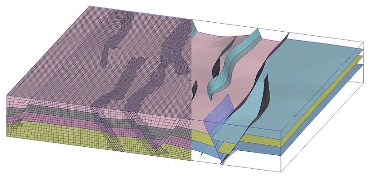 Simulation réalisée par Tessael