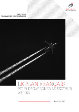 Le plan français pour décarboner le secteur aérien