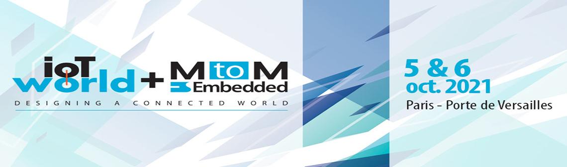 Techniques de l'Ingénieur sera présent au salon IoT World et MtoM - Embedded pour l'édition 2021 à Paris Expo - Porte de Versailles. Le 5 & 6 octobre, notre équipe vous accueille sur le stand D28 pour vivre ensemble cette grande occasion.