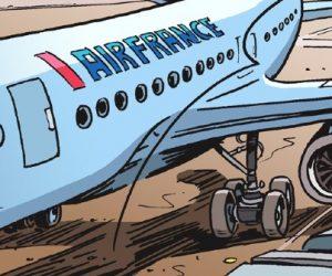 En image : Air France réalise son premier vol long courrier avec de l'huile de cuisson dans le moteur