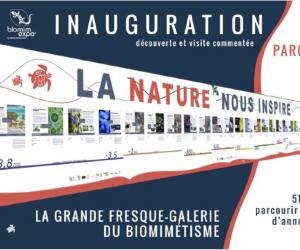 Le biomimétisme s'affiche au Congrès mondial de la nature !
