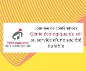 3 évènements à ne pas manquer: Smart City, Journée du Génie écologique et SIANE