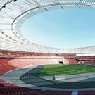 Un toit suspendu de 43 000 m2 en polycarbonate