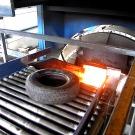 Une centrale thermique utilise les pneus comme combustible