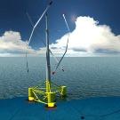 L'éolienne flottante commence à se dresser au large de Fos-sur-mer