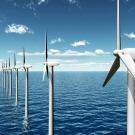 Le chantier des éoliennes en mer prend forme à Saint-Nazaire
