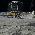 L'atterrissage sur une comète, percée scientifique n°1 de 2014 pour Science