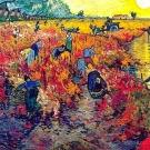 La lumière fait blanchir la couleur rouge des tableaux de Van Gogh
