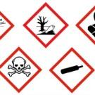 9 nouveaux pictogrammes illustrent désormais l'étiquetage des mélanges chimiques