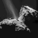 Rosetta observe le cycle de la glace d'eau sur la comète
