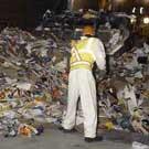 Risques respiratoires pour les professionnels de la valorisation des déchets ménagers