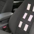 Un siège de véhicule qui mesure l'activité cardiaque du conducteur