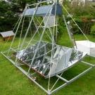 Un autoclave fonctionnant à l'énergie solaire
