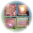 Des cellules solaires à l'intérieur de fibres optiques