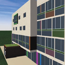 « la Clairière », premier immeuble collectif passif dans l'habitat social