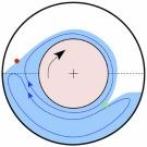 Le contact entre fluides est optimisé par les tourbillons