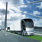 Le camion du futur pour le transport longue distance