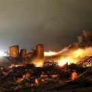 Retour sur l'explosion dévastatrice dans une usine d'engrais au Texas