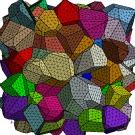 Dans l'espace, les microstructures  se solidifient de façon oscillante