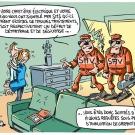 Le dessin du mois (novembre) - La domotique en France, feu de paille ou big bang ?
