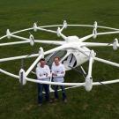 Le Volocopter, un « hélicoptère » électrique