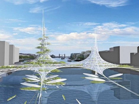 le futur pont de londres suscite l 39 enthousiasme des architectes techniques de l 39 ing nieur. Black Bedroom Furniture Sets. Home Design Ideas