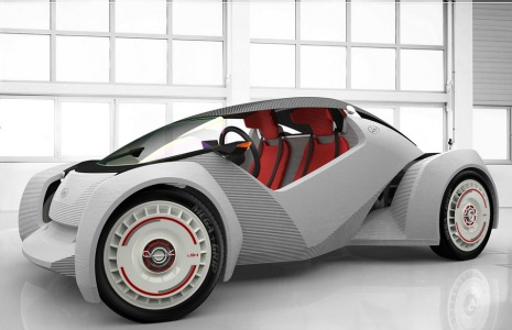 strati est la premi re voiture fabriqu e en impression 3d techniques de l 39 ing nieur. Black Bedroom Furniture Sets. Home Design Ideas