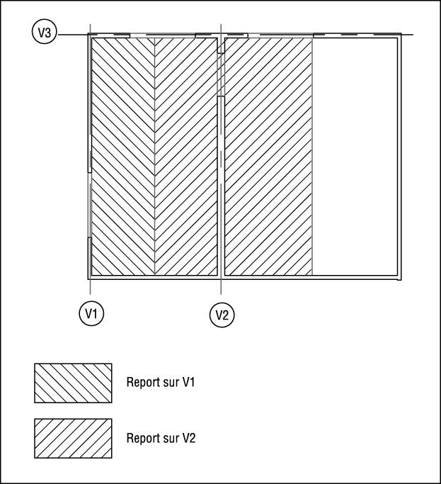 pratique du calcul de structure par logiciel premi re phase de calcul descente de charges. Black Bedroom Furniture Sets. Home Design Ideas